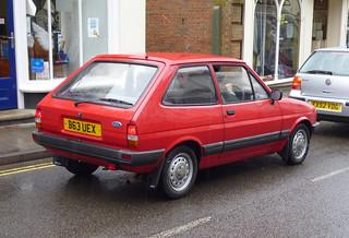 1985 Ford Fiesta 1.3L | by Spottedlaurel