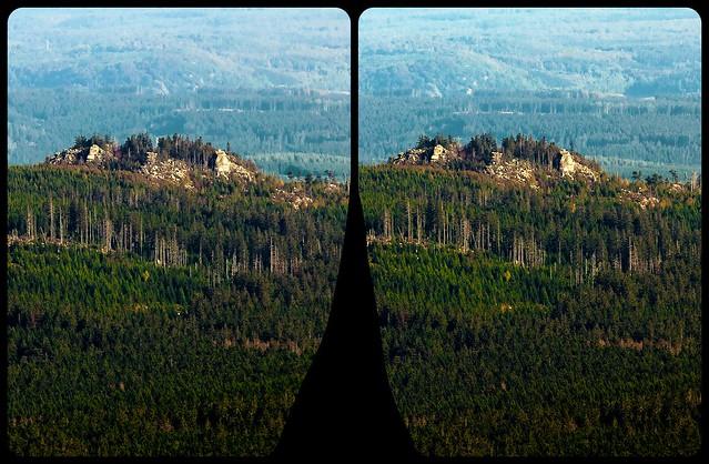 Nationalpark Harz 3-D ::: HDR/Raw Cross-Eye Stereoscopy