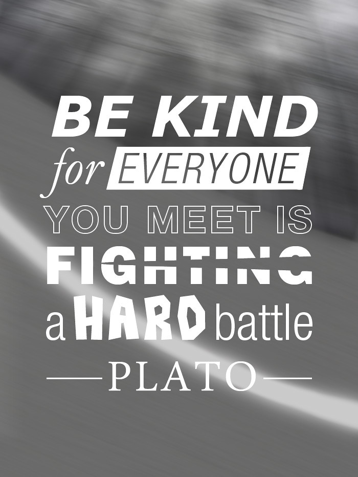 """Terms Of Use >> BE-KIND, Plato 