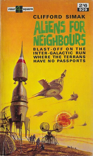 Clifford Simak - Aliens for Neighbours (Four Square 1963)