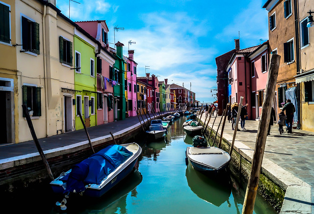 BURANO - The Venetian Lagoon