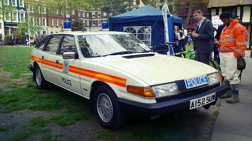 Police Rover SD1   by Wooly Matt