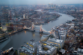 Tower Bridge from The Shard | by publicenergy