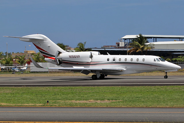 Private / Cessna 750 Citation X / N156VP at TJIG