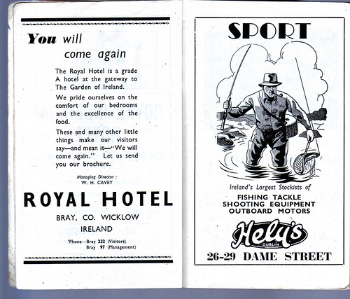 Royal Hotel Bray / Hely's of Dame Street