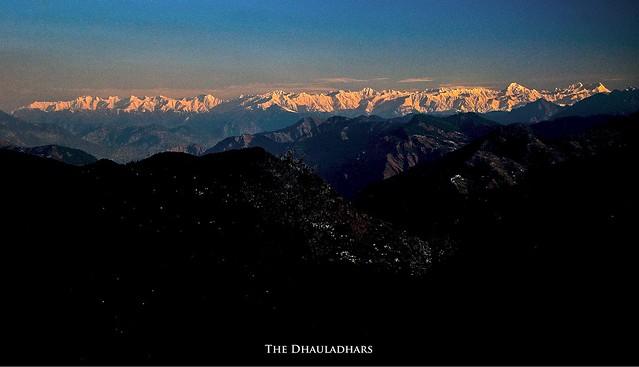 Dhauladhar Range - Himachal Pradesh