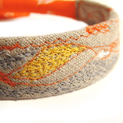 Vestige necklace nO.69 | Life history | by moldarina