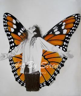 """You Give Me Butterflies"" - Apr 7, 2012 | by ArtBySiren"