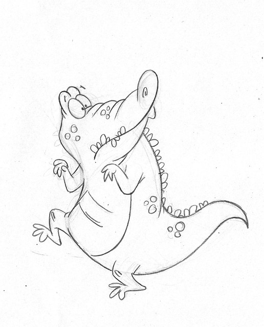 Alligator-tiptoe