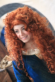 Meeting Merida | by Castles, Capes & Clones