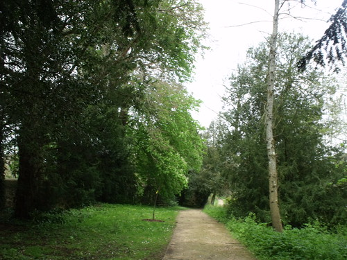 Sherborne Castle & Lakeside Gardens - trees and path | by ell brown