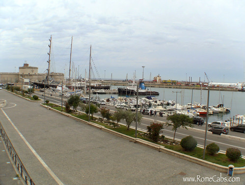 Civitavecchia harbor | by Rome Cabs