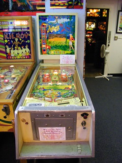 1960 Williams Jungle Pinball