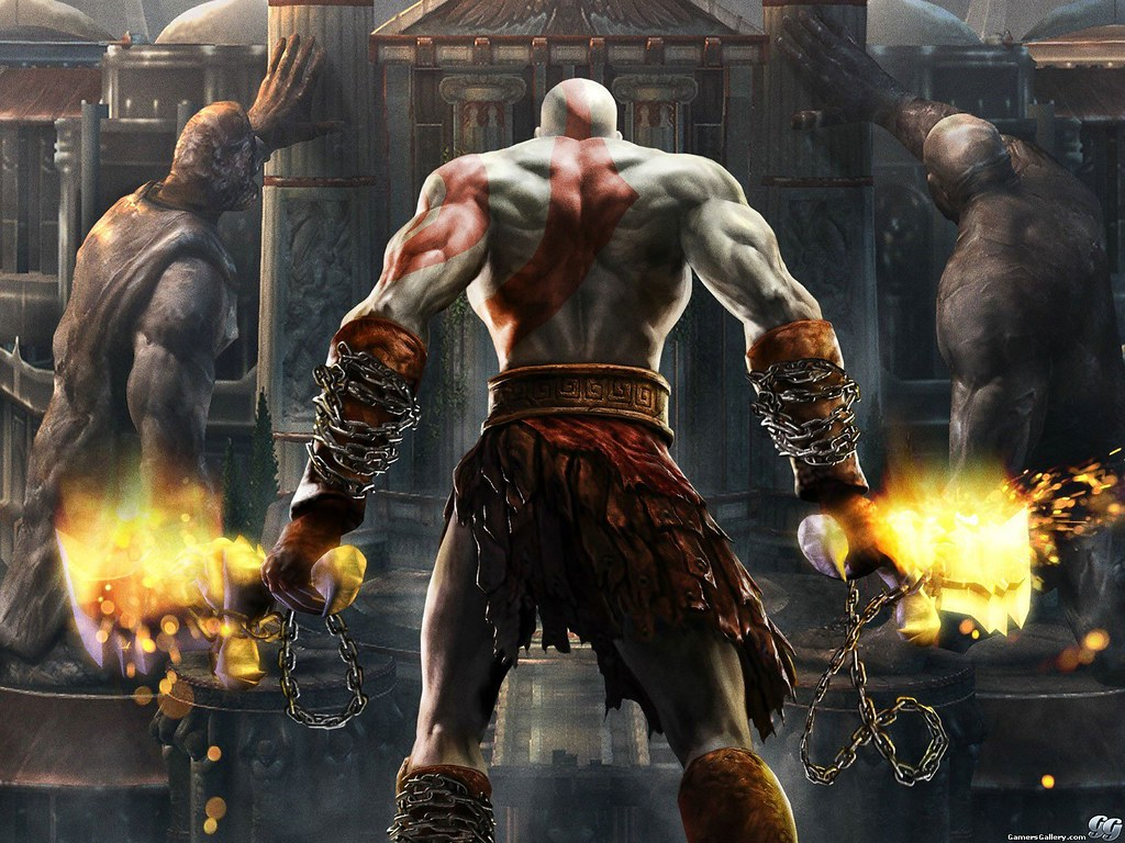 God Of War 1 Kratos De Espalda Diego Ramirez Delgado Flickr