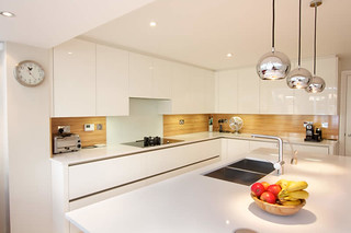 High Gloss Kitchen from LWK Kitchens London | by felth
