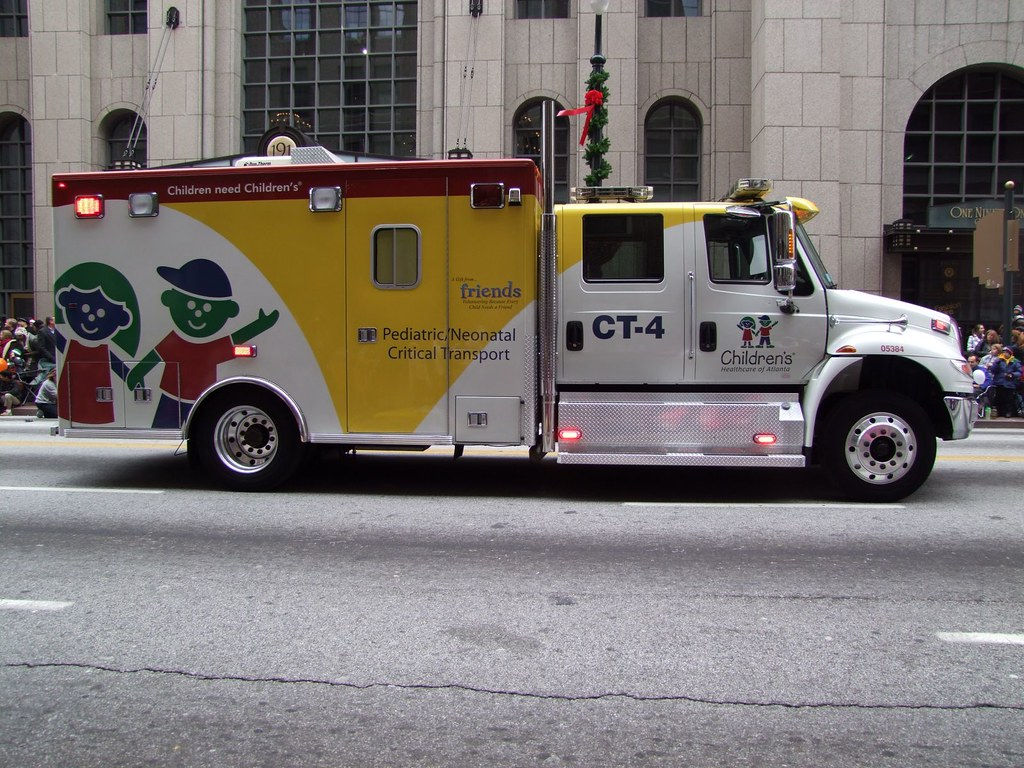 CHOA Critical Transport Unit 4 | I spotted this unit yesterd