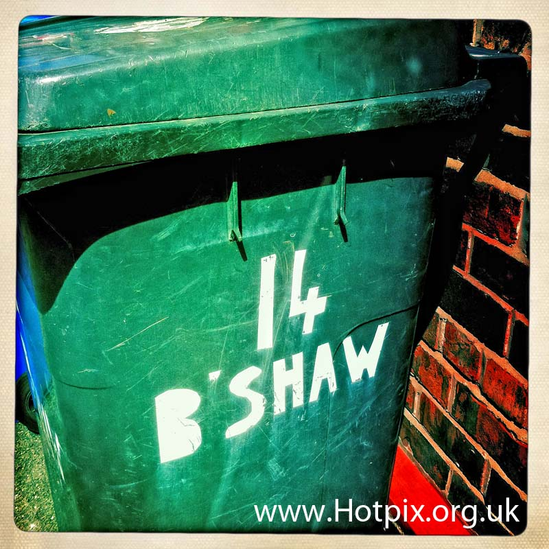 wheelie,bin,wheeliebin,warrington,borough,council,bradshaw,lane,thelwall,grappenhall,south,england,english,British,UK,number,14,fourteen,number14,numberfourteen,numbers,no,nos,no14,rubbish,waste,hipsta,hipstamatic,iphone,app,mobile,phone,Obviously this is rubbish,grey