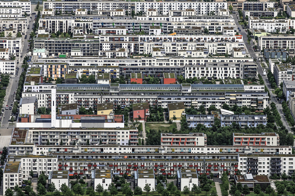 Messestadt Riem Borough Of The City Of Munich Luftbild Vo Flickr