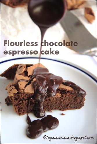 flourless chocolate espresso cake | by mammadaia