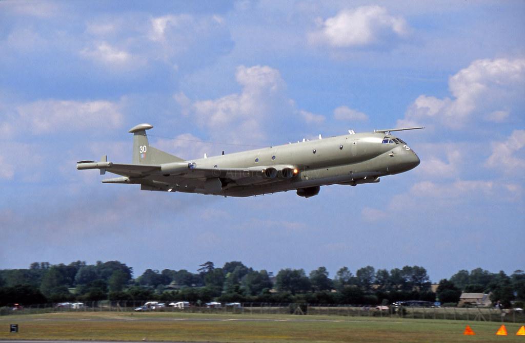 RAF Nimrod MR.2 at RIAT 1997.