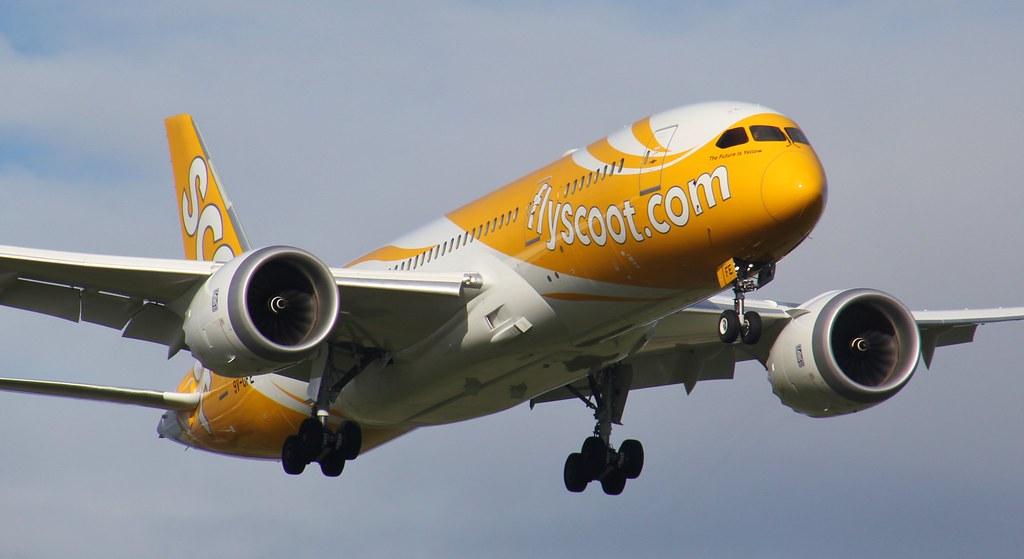 9V-OFE | Scoot | TZ26 | Boeing 787-8 Dreamliner | Melbourne International Airport | (MEL/YMML)
