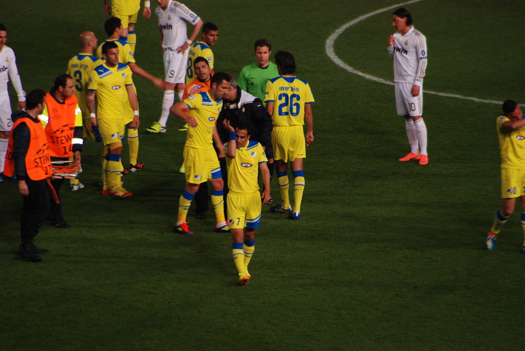 APOEL - real madrid - George M. Groutas - Flickr