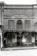 Murray Street 118 The Bunyip Printing Office third premises, photo taken 1905-1910