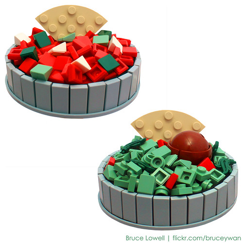LEGO Salsa and Guacamole