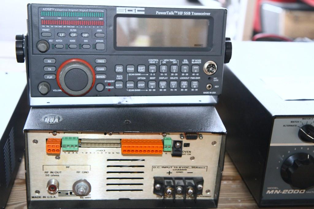 IMG_2873   SGC PowerTalk HF SSB Transceiver   JCMcdavid   Flickr