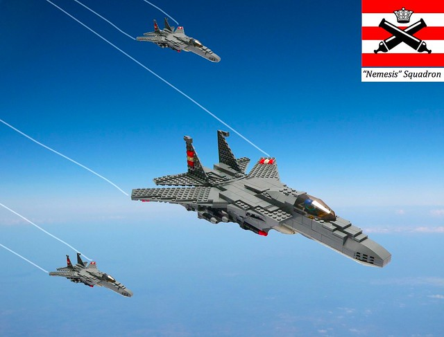 VL-235 Nemesis squadron on patrol