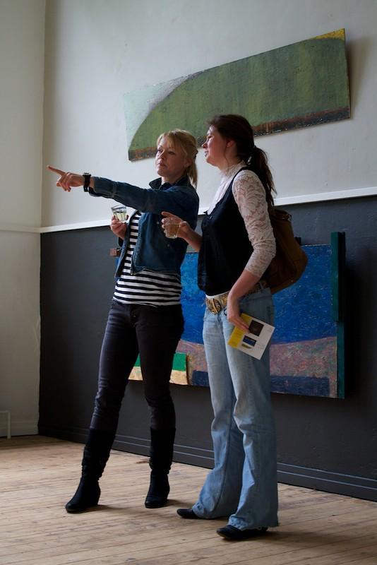 Esther van Dijk en Manon van Silfhout