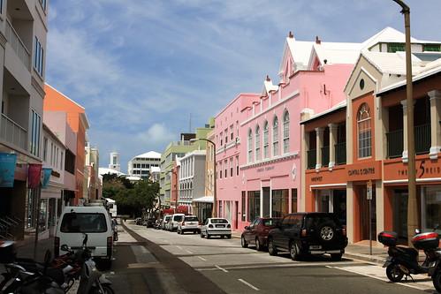Colorful Street - Hamilton, Bermuda | by TravelingOtter