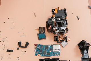 Sony A55 Disassembly (17) | Taking the A55 apart ---- The se… | Flickr