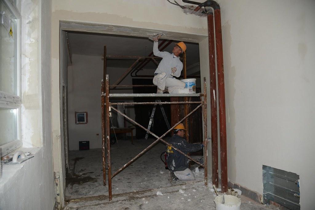 School renovation under way in Kosovo
