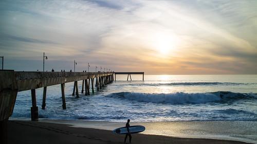california sunset usa pacifica tallguy