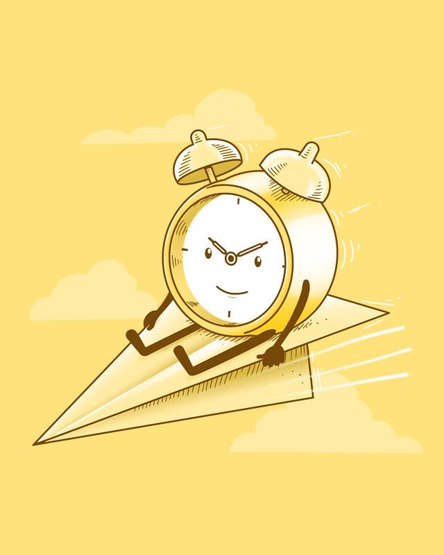 El tiempo pasa volando