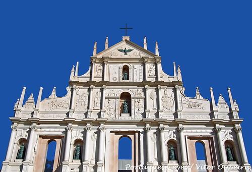 Réplica da Fachada da Igreja de São Paulo (Macau) - Parque da Cidade de  Loures - Portugal