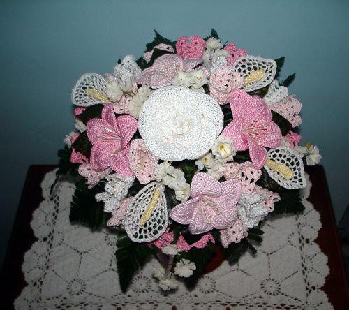 Bouquet Sposa Uncinetto.Bouquet Sposa Uncinetto Crochet Bouquet Sposa Rose Gigl Flickr