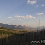 Lookin south to Logan Pass