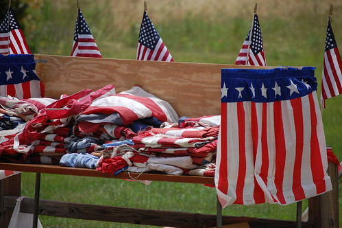 Flags to be retired | by Donald Lee Pardue