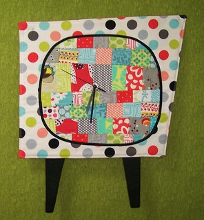 Quilted Clock