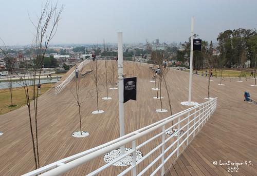 Nuevo parque  centro cívico 5 de mayo ( La Mantarraya ) - Puebla - México