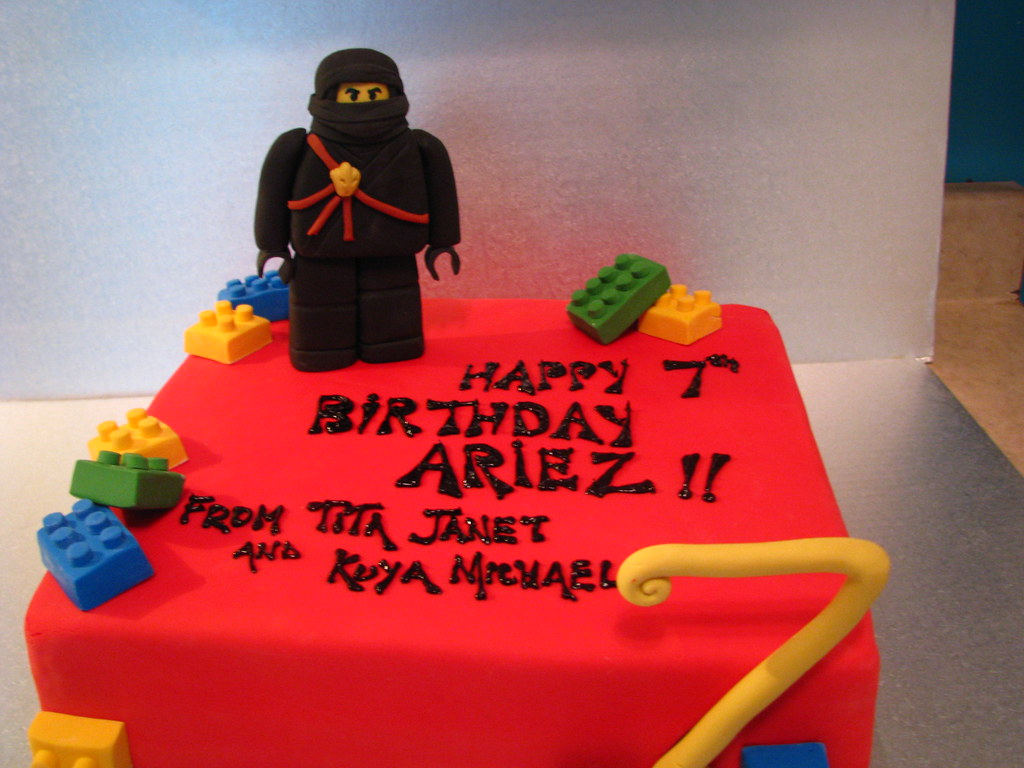 Admirable Lego Ninjago Birthday Cake Cake Conspiracy Flickr Funny Birthday Cards Online Inifofree Goldxyz