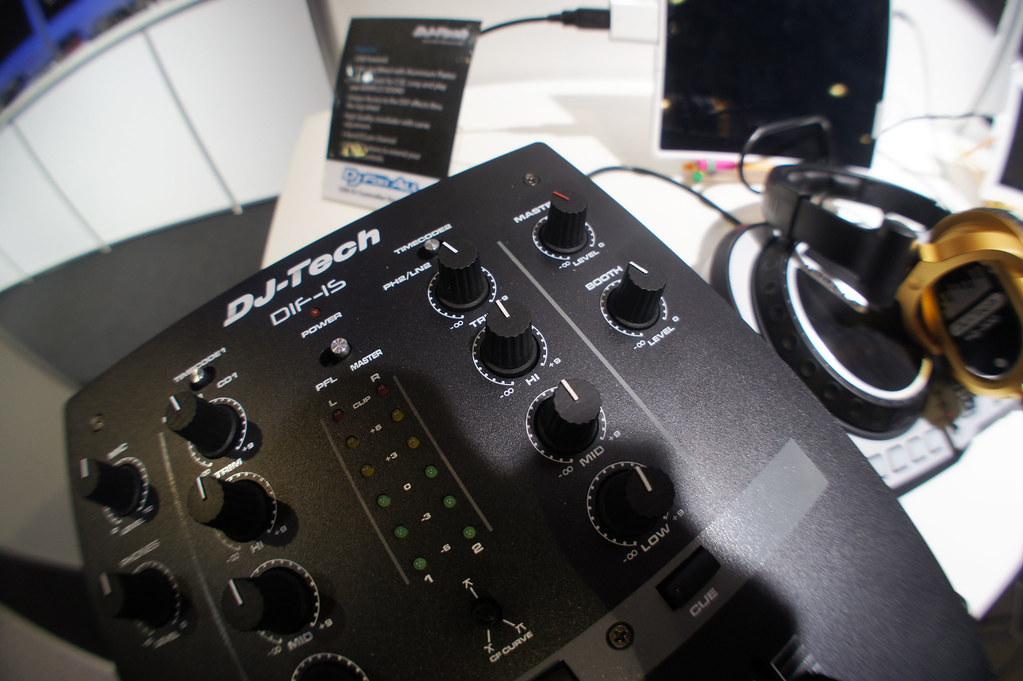 DJ Tech DIF-1S Scratch Mixer | DJ Tech DIF-1S Scratch Mixer