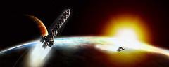 outer space by benjamingoossen