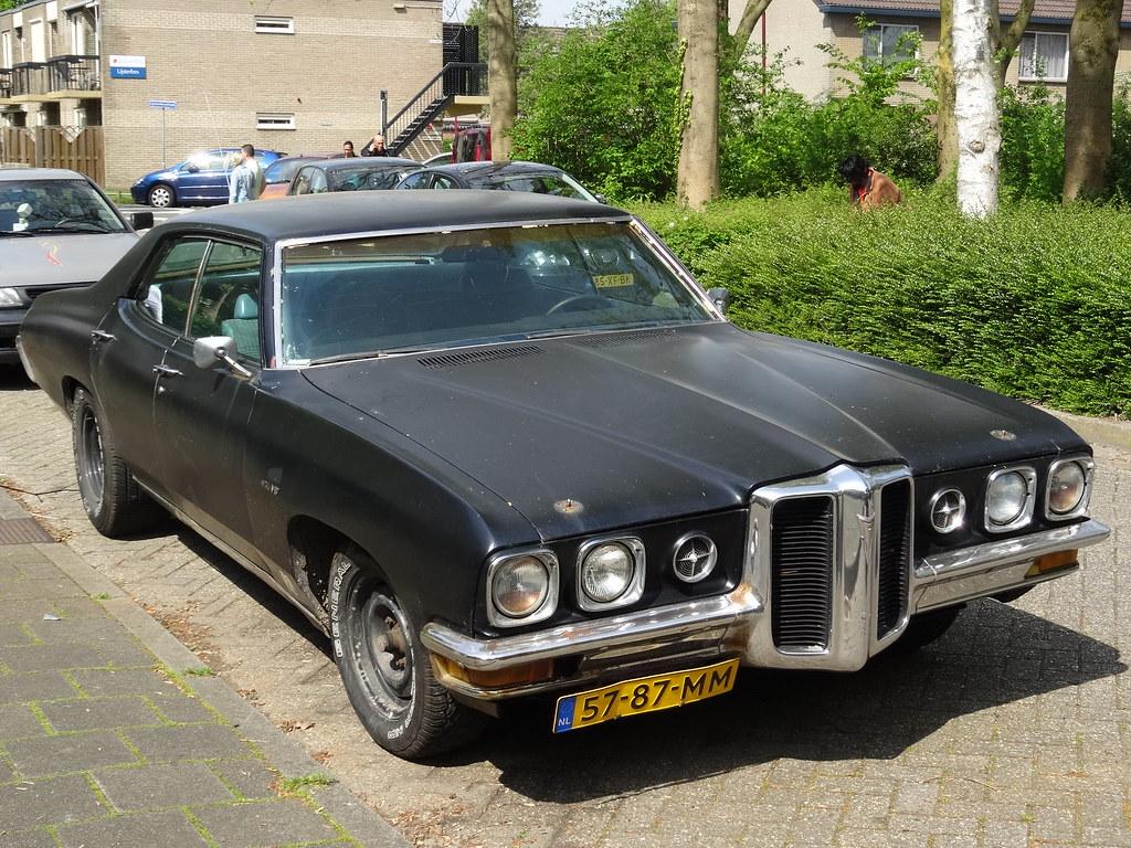 1970 Pontiac Parisienne The Pontiac Parisienne Nameplate W Flickr