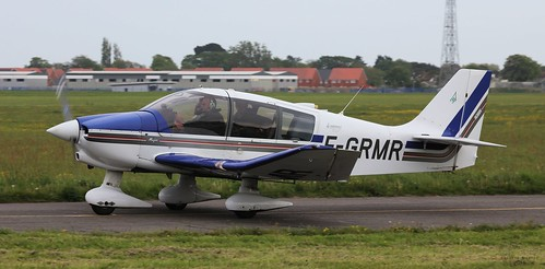 Robin DR 400-160 - F-GRMR Lee on Solent Airfield 2016 | by SupaSmokey