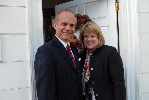 Mary Davis Holt and Dean Haddock