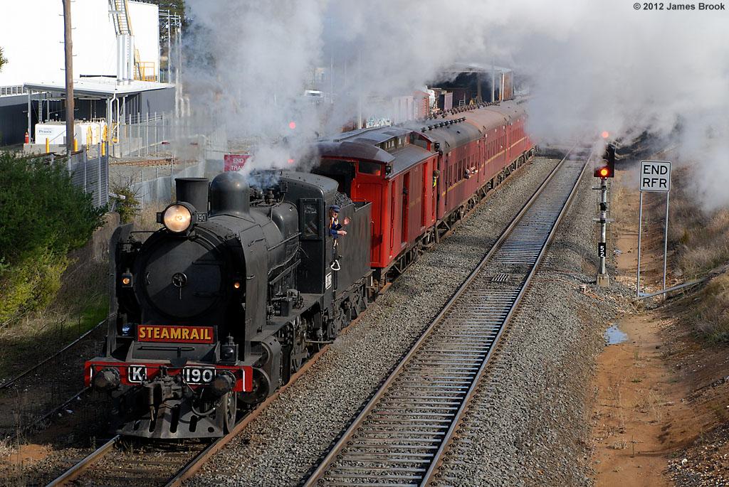 K190 at Ballarat East by James Brook