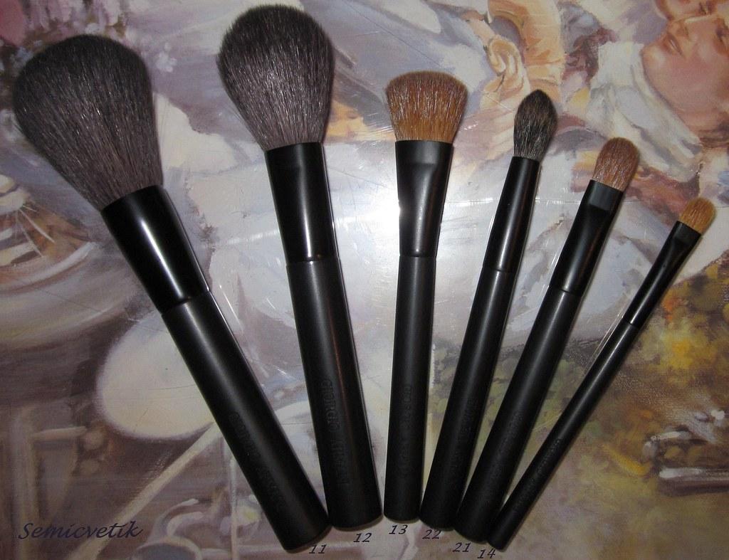 yksityiskohtaiset kuvat hieno muotoilu tehtaan aito Giorgio Armani makeup brushes | Cosmo-Semicvetik | Flickr